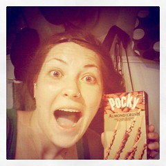 POCKY, GET IN MY MOUTHS! POCKY! I KNOW U CAN HEAR ME!