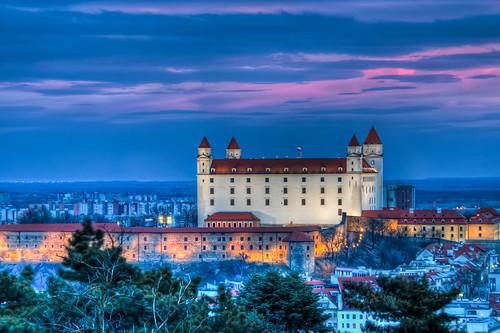 Sehenswürdigkeiten in Bratislava: Burg Bratislava