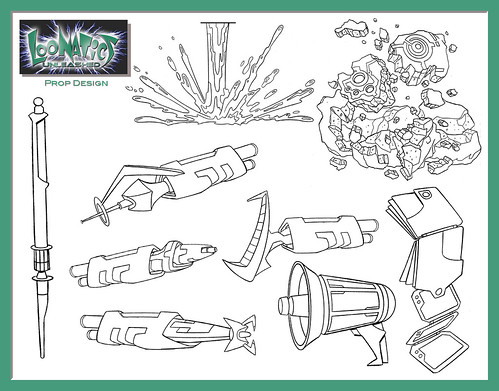 loonatics unleashed coloring pages - photo#8