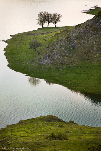 trees lake water colors landscape outdoors photography colours dusk macedonia aoos 5dmkii
