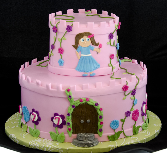 buttercream cake recipe princess castle cake flickr photo 2158