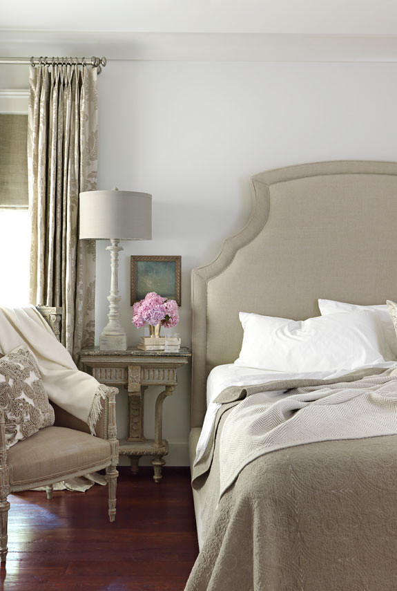 traditional gray bedroom benjamin moore revere pewter a photo on