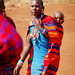 Masai mother with a child