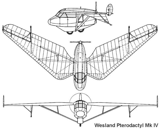 Westland Pterodactyl Mk.IV 3v
