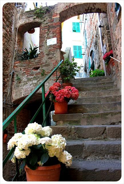 Corniglia stairs