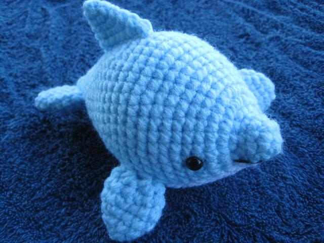 Amigurumi Dolphin Pattern : Amigurumi Dolphin July 2011 Dolphin Amigurumi Pattern My ...