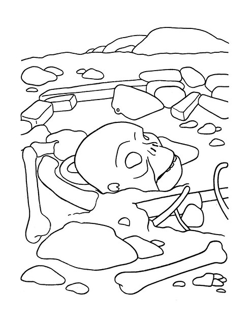 Planet of the Apes Coloring Book 0200059