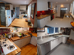 Kitchen 2011- Before & after