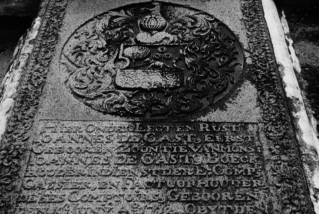 Coat of arms at a grave  - 1702 AD