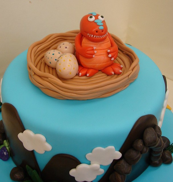 Dinosaur Train Cake Decorating Kit : Pin Dinosaur Train Dessert Plate Party Supplies Cake on ...