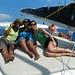 Stephanie, Ashley, LaTrece, and Shonda's Amazing Greek Adventure