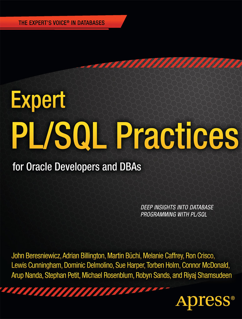 Expert PL/SQL Practices Book Cover