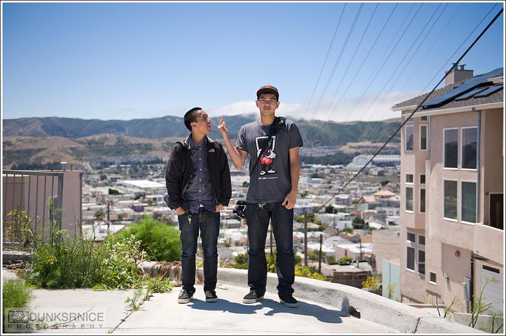Eric & Ron.