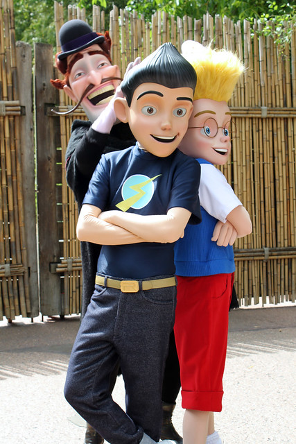 Meeting the Robinsons!