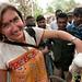 Audrey Holds a Chicken - Hatiandha, Bangladesh