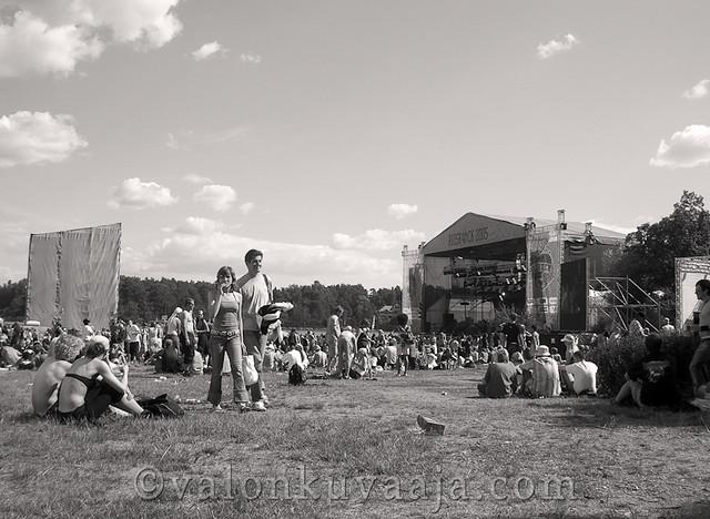 Ruisrock 2005 lauantai