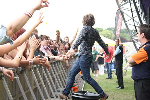 Just Morale at the Godiva Festival 2011