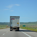 southbound I-15 at Sulphurdale – 1 mi from exit 129