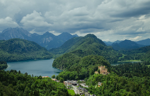 View from Neuschwanstein - [EXPLORED]