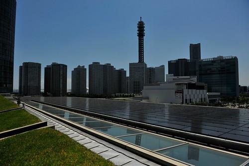 Solar Panels at Nissan HQ