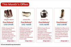 This Month's Offers by OSIM