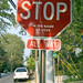 Annotated stop sign by Just some dust