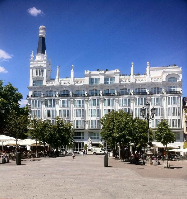 Hotel Melia Me Plaza De Santa Ana Madrid Flickr