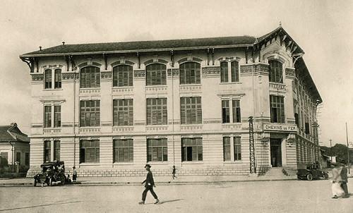 Saigon 1926 - Trụ sở CTy Hỏa xa Đông Dương