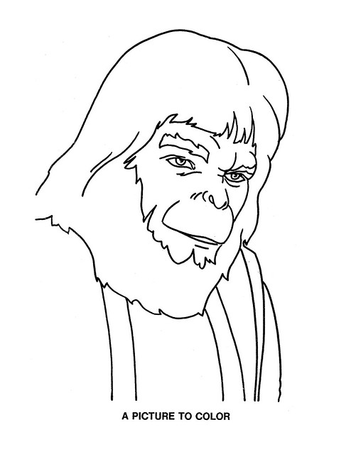 Planet of the Apes Activity Book 0100061