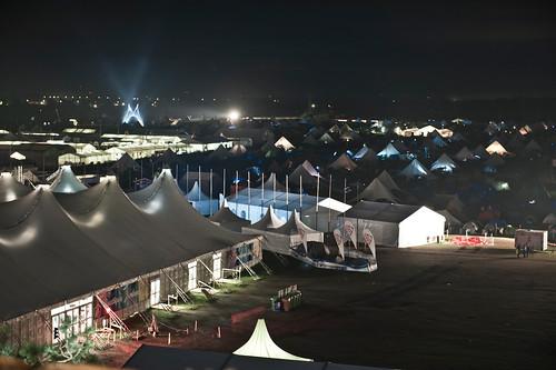 Jamboree at night