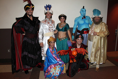 Meeting the cast of Disney's Aladdin - A Musical Spectacular