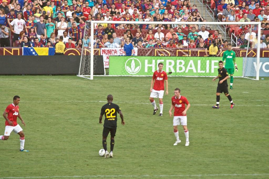 Barcelona vs Manchester United 10