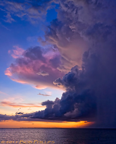 sunset clouds florida fortmyersbeach