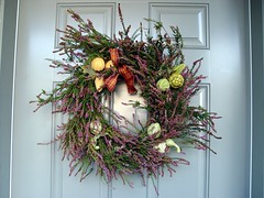 "Sep 29 2011 [Day 332] ""Homemade Fall Wreath To Greet Fall"""