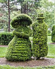 Deaf School Topiary Garden - Columbus, OH