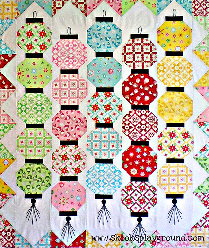 Glow Happy Quilt Top