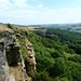 Small photo of Agden Rocher, Peak District, in summer
