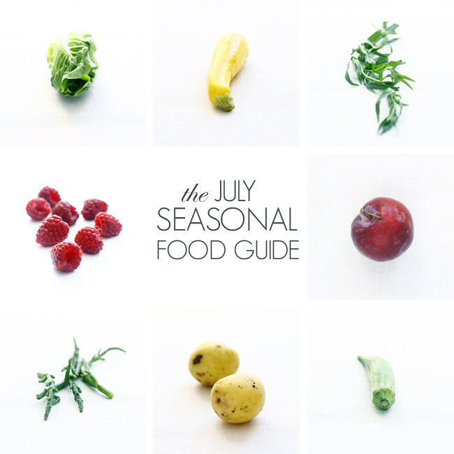 The July Seasonal Food Guide