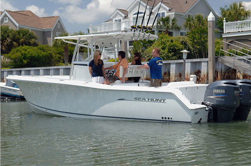 Sea Hunt 29 gamefish. Loaded Boat just from standard features.