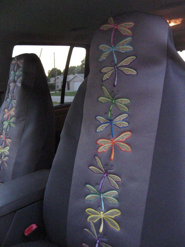 AUTOMOTIVE CAR SEAT COVERS