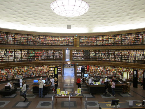 Inside Stockholm's Library