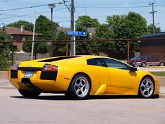 lamborghini diablo(0.0), automobile(1.0), lamborghini(1.0), wheel(1.0), vehicle(1.0), performance car(1.0), automotive design(1.0), lamborghini(1.0), land vehicle(1.0), luxury vehicle(1.0), lamborghini murciã©lago(1.0), supercar(1.0), sports car(1.0),