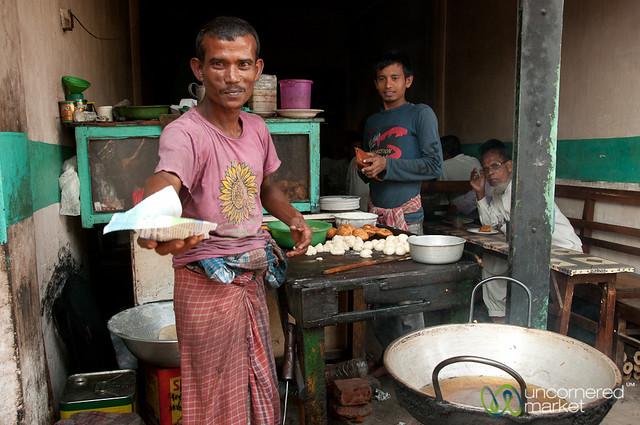 Street Food in Srimongal Market - Bangladesh