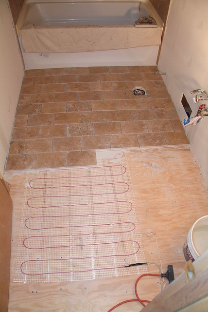 Heated Travertine Floor Flickr Photo Sharing