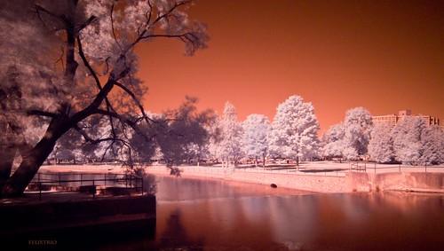 Spillway Riverside Park by Bruce Shapka