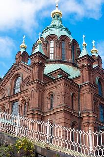 Bilde av The Uspenski Cathedral. finland helsinki