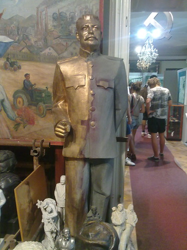 Josef Stalin inside the Museum of Communism