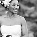 Natural Hair Accessories White Bridal Headband