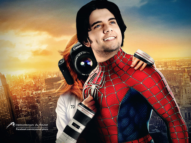 Spiderman alyousef :P