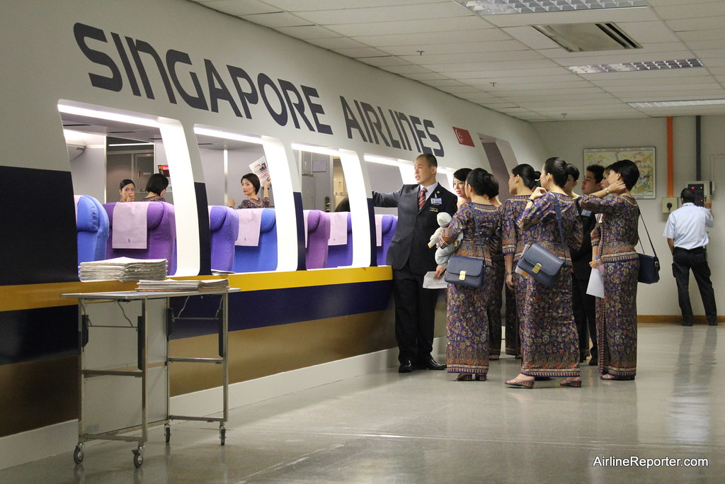 Singapore Airlines Service Training